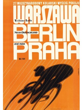 27th International Peace Race 1974 (reprint)