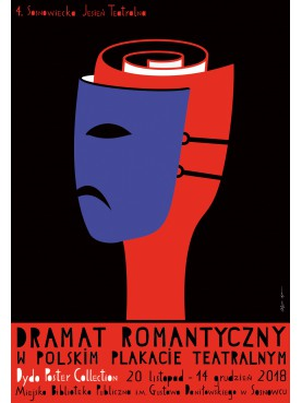 Romance drama in polish theater posters
