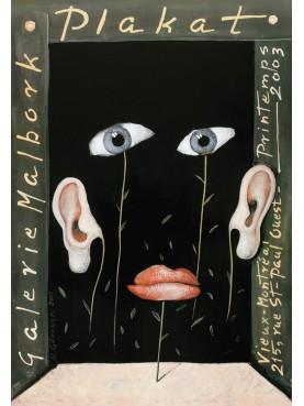 Plakat Galerie Malbork