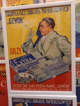 Oryginalny plakat reklamowy z lat 30