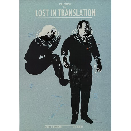 Lost In Translation  Lost Person Poster
