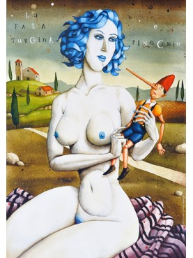 La Fata Turchina E Pinocchio
