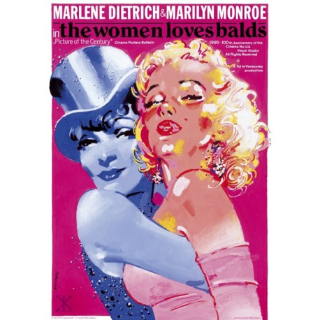 Marlene Dietrich And Marilyn Monroe