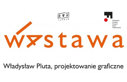 14th exhibition. Władysław Pluta, graphic design